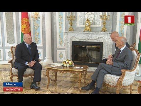 Президент Беларуси встретился с делегациями стран Евросоюза