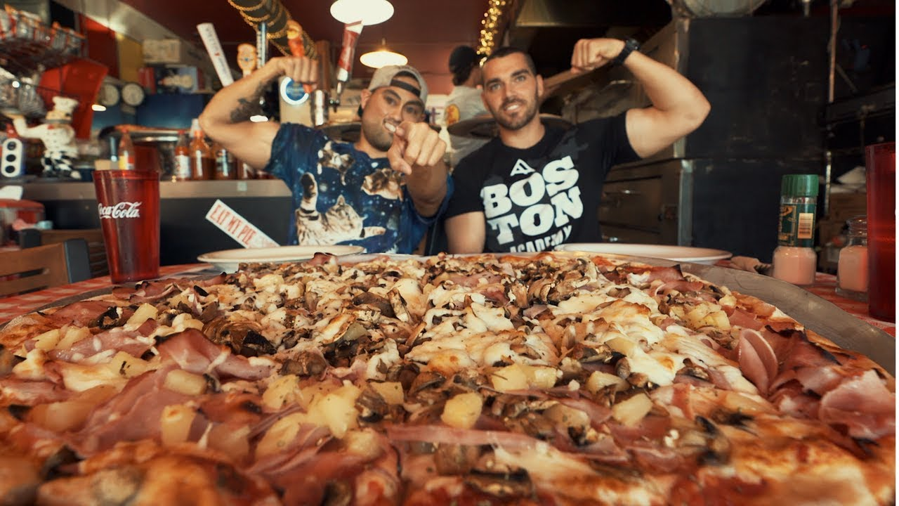 Download $150 12lbs Big Richie Pizza Challenge