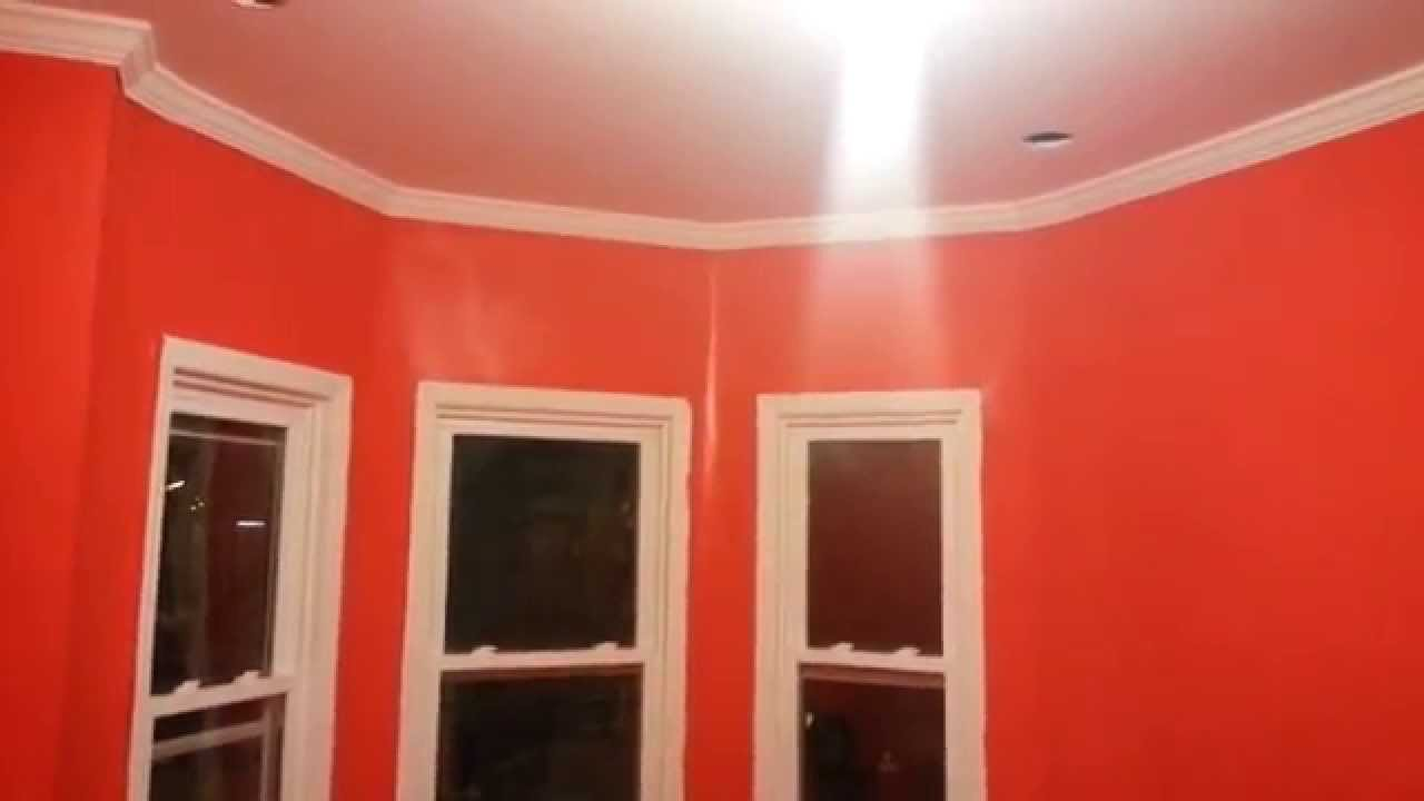 how to choose paint colours for super high walls