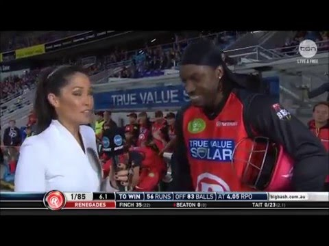 Chris Gayle Mel McLaughlin interview