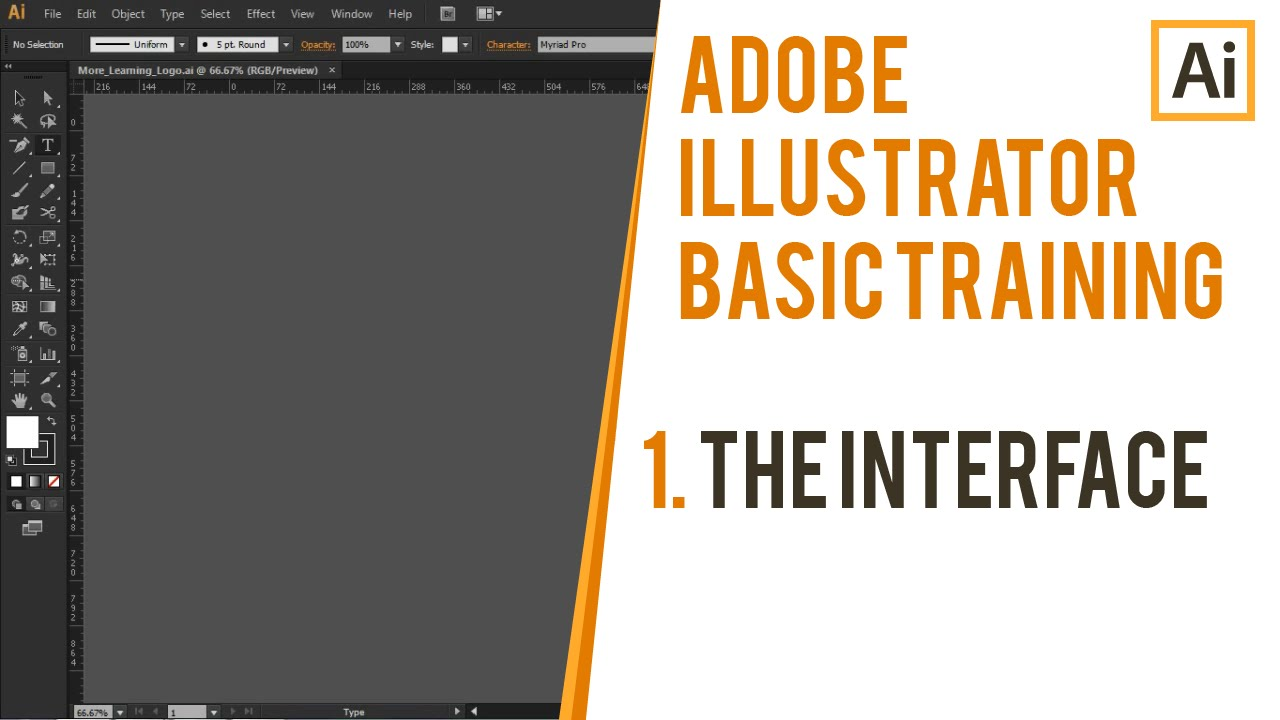 Interface Introduction to Adobe Illustrator | Adobe Illustrator ...