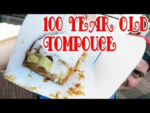 100 year Old Tompouce Culemborg famous dutch bakery - food reviews & living in the netherlands