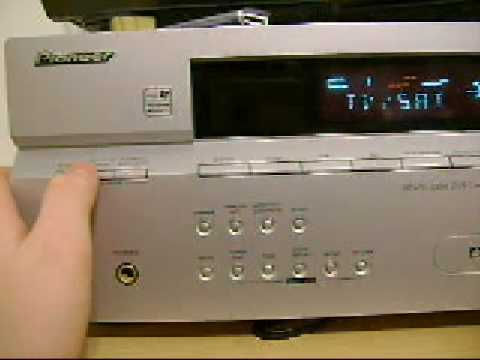 Pioneer Sx 316 A V Receiver 730 Watts Youtube