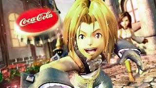 Final Fantasy IX comercial Coca Cola