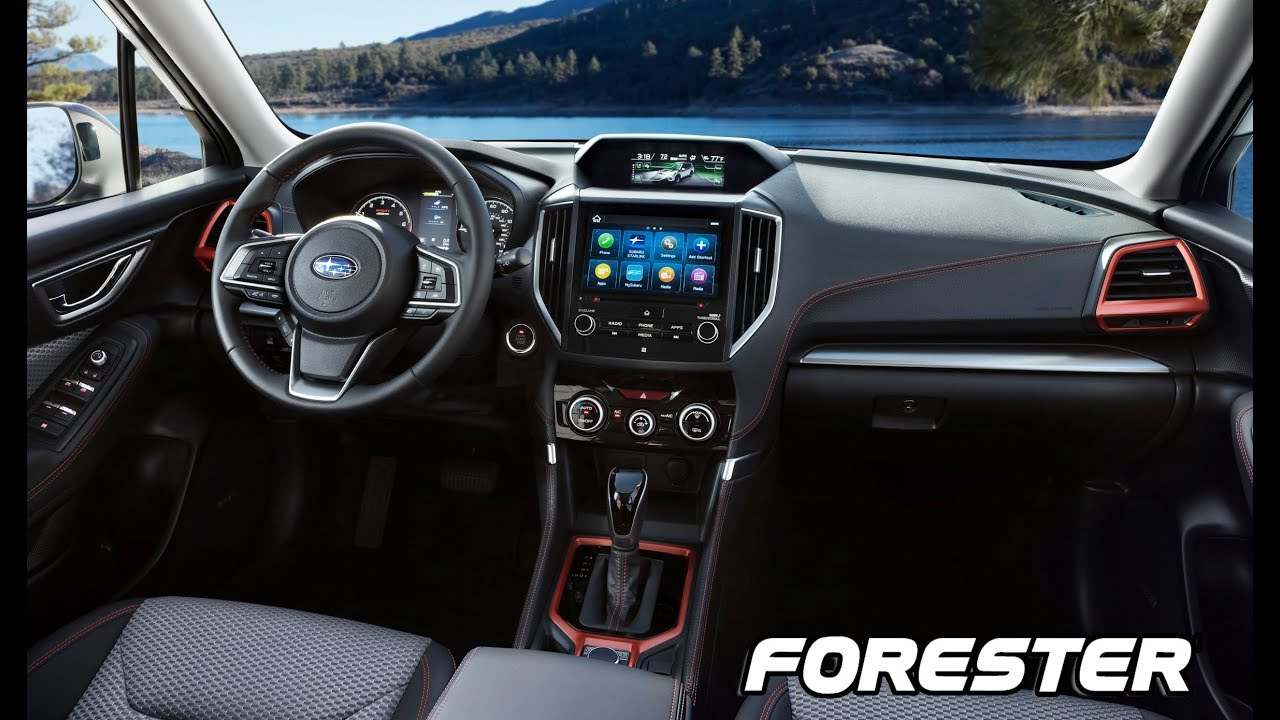 2019 Subaru Forester Interior Youtube