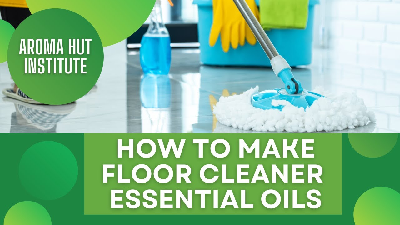 Floor Cleaner With Essential Oils