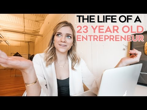 A Day In The Life Of A 20 something Year Old Entrepreneur
