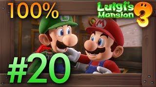 Luigi's Mansion 3: 100% Walkthrough Part 20 - Master Suite (15F) & Rescuing Mario