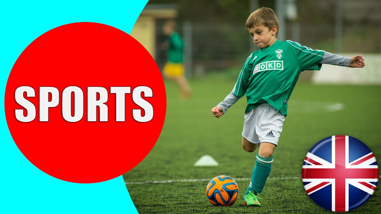 sports different types children vocabulary english learn