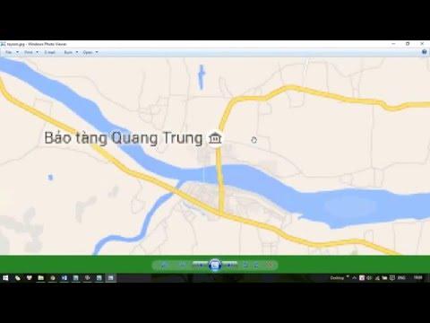 Hướng dẫn sử dụng lấy bản đồ phần mềm Universal Maps Downloader