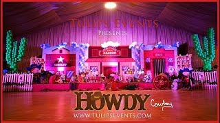 Best Western Cowboy Party Ideas by Tulips Events in Pakistan