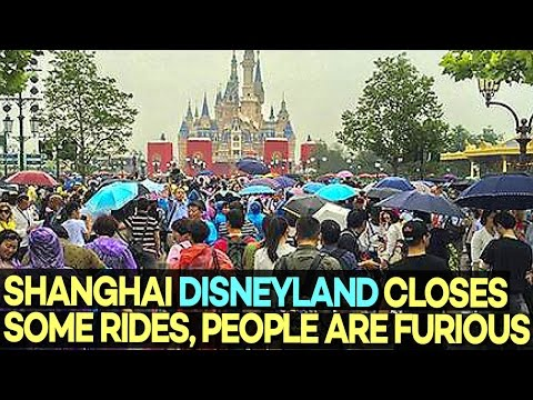 Shanghai Disneyland Closes Some Rides, People Got REALLY Mad