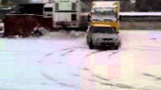 Зимний тест-драйв ( Honda CR-V }