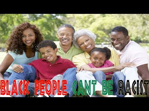 Black People Can't Be Racist | LIVE