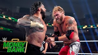 Reigns and Edge trade punches in epic showdown: WWE Money in the Bank 2021 (WWE Network Exclusive)