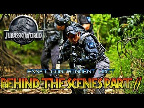 JURASSIC WORLD FAN FILM BEHIND THE SCENES PART 2 : ASSET CONTAINMENT UNIT / JURASSIC PARK JEEP