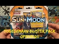 Opening Togedemaru Pokemon Sun & Moon 3 Pack Blister Of Pokemon Cards!!!