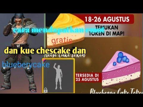 Cara mendapatkan cheesecake gratis dan emote gratis. Garena free fire indonesia