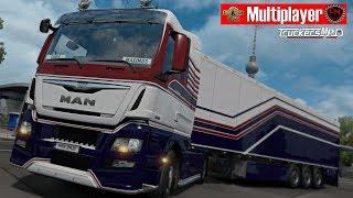 ETS2 Multiplayer [EU1] 🚚 1500 km [CML] mit dem New MAN 🔴 #988 LIVE-Tour [Deutsch]