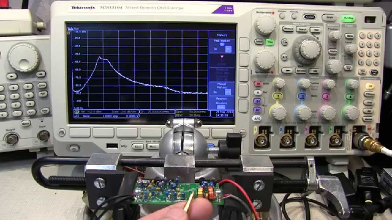 150 How To Measure An Hf Bandpass Filter Response With The Mdo3000 Science News And Electronic Circuits Band Pass Circuit Youtube