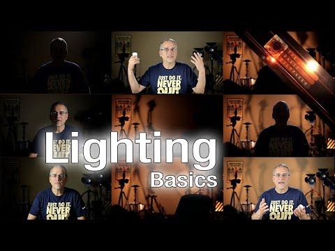 Light it up! Basic Filmmaking Lighting - The Basic Filmmaker Ep 93