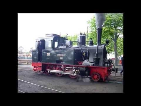 Saisoneröffnung des Deutschen Eisenbahn Vereins Bruchhausen Vilsen 1. Mai 2015 GmP mit Lok Spreewald