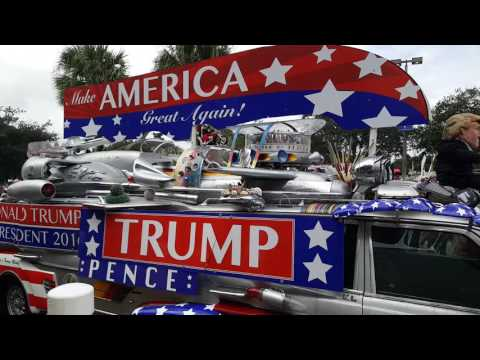 Trump mobile ,rally in Palm Beach 12018384838 Villavalentina.123look.com