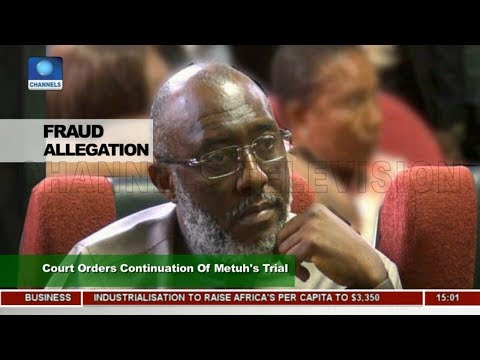 Court Orders Continuation Of Metuh's Trial |News Across Nigeria|
