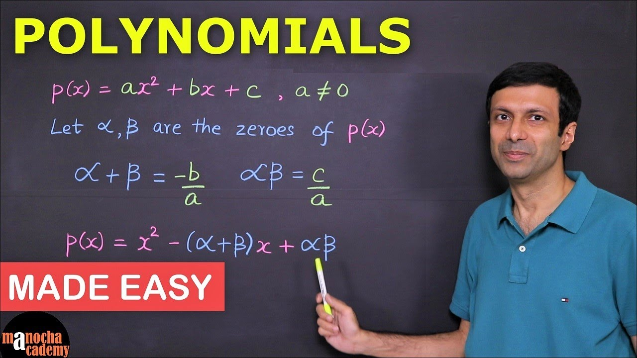 Download Polynomials Class 10