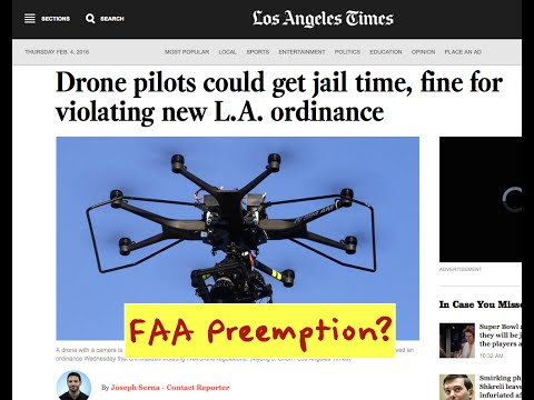 Federal, State & Local Drone Laws, Property Rights & Privacy.
