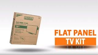 U-Haul Flat Panel TV Kit Product Features