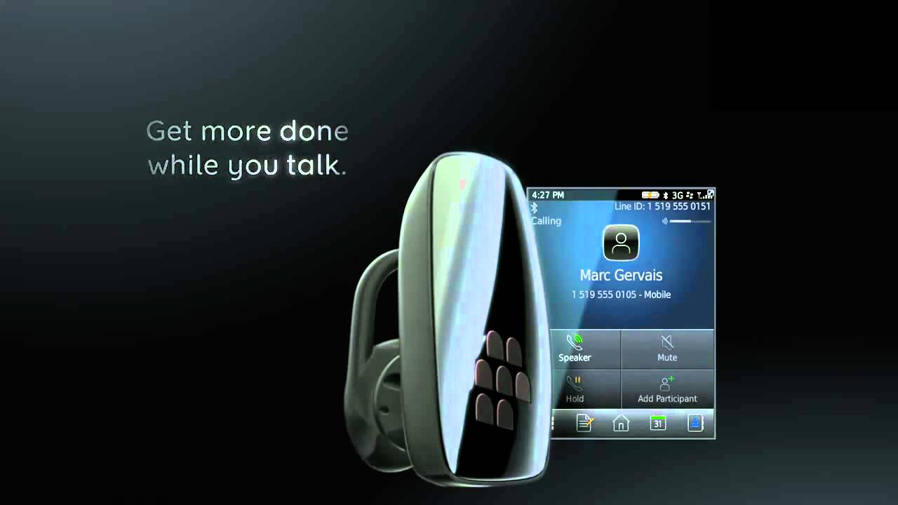 Blackberry Wireless Headset Hs 300 Youtube
