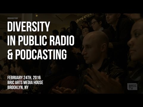 Diversity In Public Radio & Podcasting Panel | Media Talks