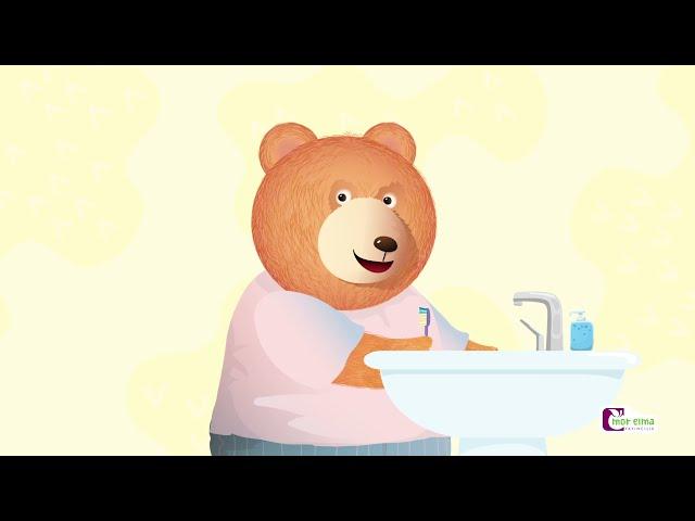 Bobi Dişlerini Fırçalıyor - Diş Nasıl Fırçalanır - Okul Öncesi Eğitim - Cici Mici 2 Yaş Eğitim Seti