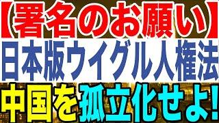 2020.10.24【署名のお願い】日本版ウイグル人権法中国を孤立化せよ【及川幸久−BREAKING−】