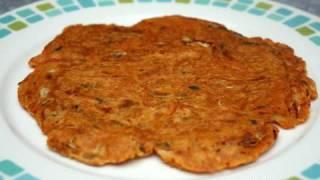 Korean Food: Kimchi Pancakes (김치전=kimchi Jeon)