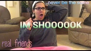 REAL FRIENDS & NEVER BE THE SAME (camila cabello) REACTION | abbie riedeman