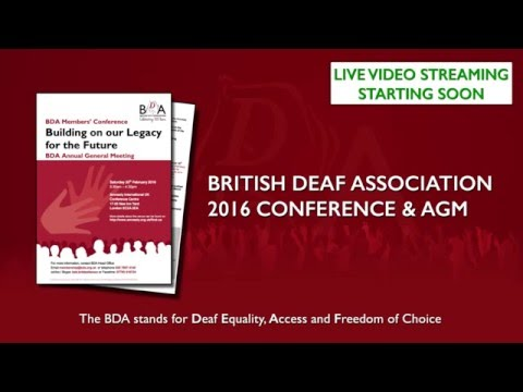 2016 BDA Members Conference and AGM