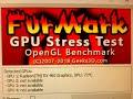 GIGABYTE Radeon RX460 2GB GDDR5 Dual Fan running Furmark Xtreme Burn-In