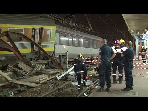 Catastrophe ferroviaire (railway disaster) / Brétigny-sur-Orge - France 12 juillet 2013 ©Line Press