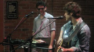 """MGMT with """"Song for Dan Treacy"""" in the CD102.5 Big Room"""
