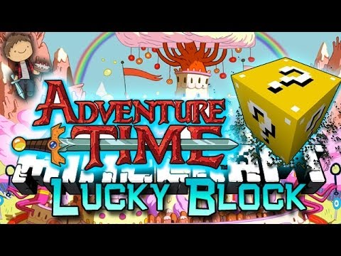 Minecraft Adventure Time Lucky Block Pvp Edition Modded