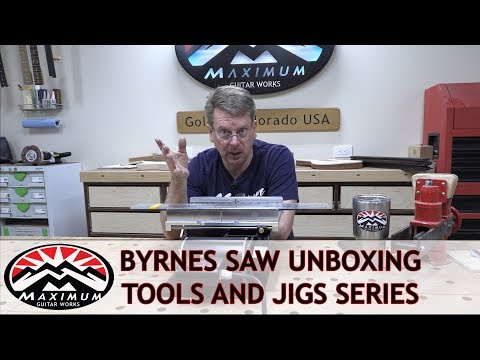 Maximum Tools Series - Byrnes Saw Unboxing