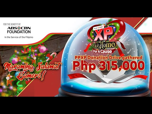 Donation Drive Thanks You | PlayPark Xtreme Paskuhan PPXP 2020