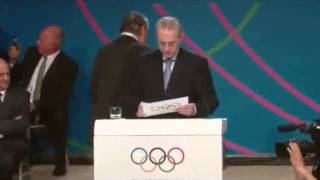 125th IOC Session (Buenos Aires, Argentina) 9/7/13 - Tokyo wins the 2020 Olympic Bid