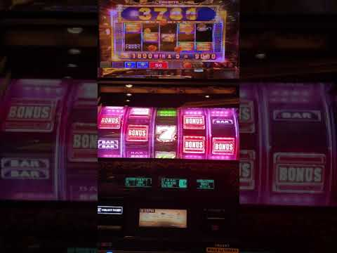 Huge win Big win Jackpot Bonus Game @ Marina Bay Sands Singapore