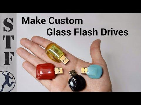Diy: USB Glass Flash Drive | Microwave Kiln #3