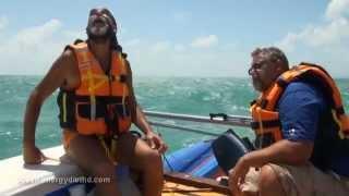 Переход экспедиции «Через океаны с Energy Diet» из Форталезы до Сан-Луиса