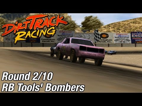 Dirt Track Racing (PC) - RB Tools' Bombers @ Aztec Speedway [Rd 2/10]