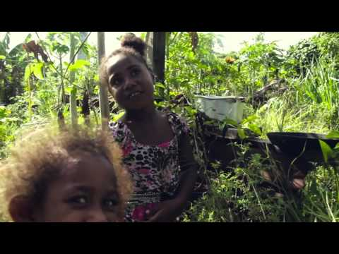 Tamanu, 5, talks about life one year after Cyclone Pam in Vanuatu